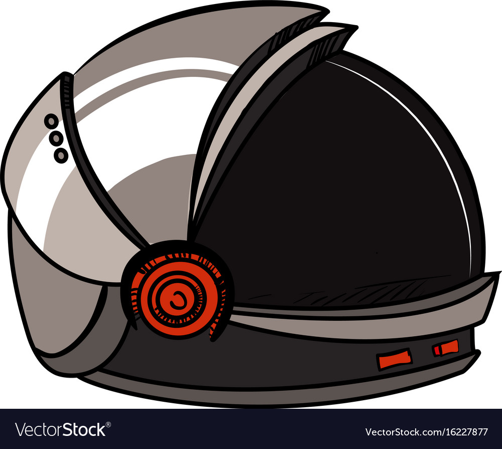 Color sketch spacesuit vector image