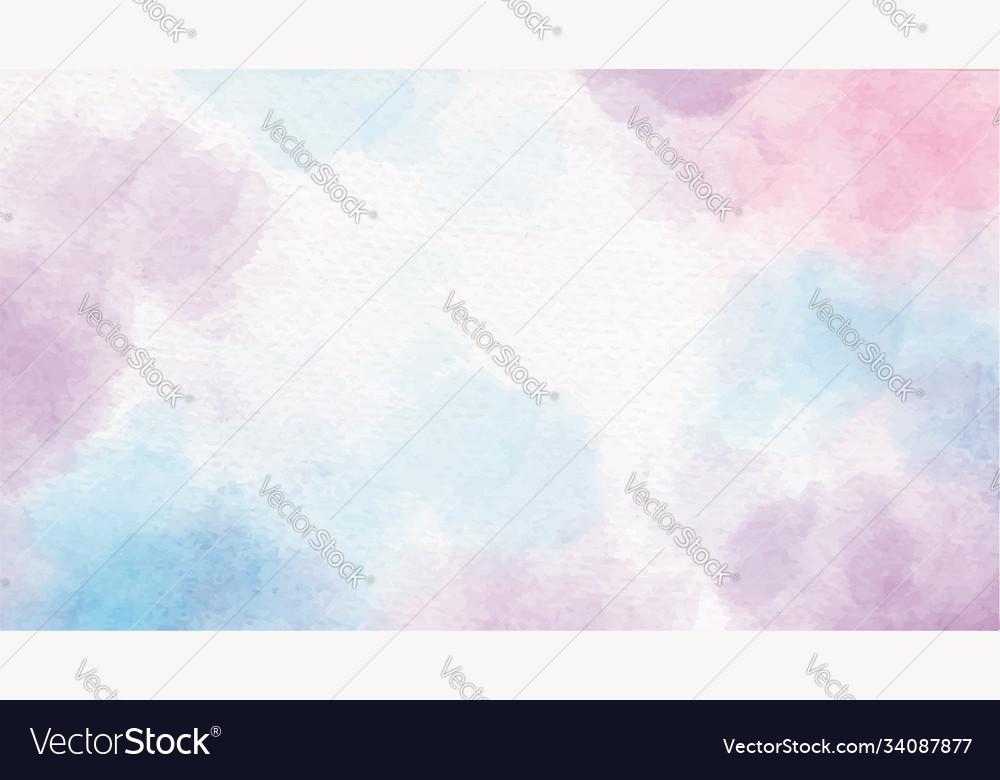 Colorful watercolor unicorn sugar candy splash