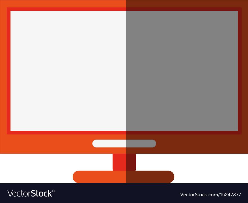 Monitor flat shadow
