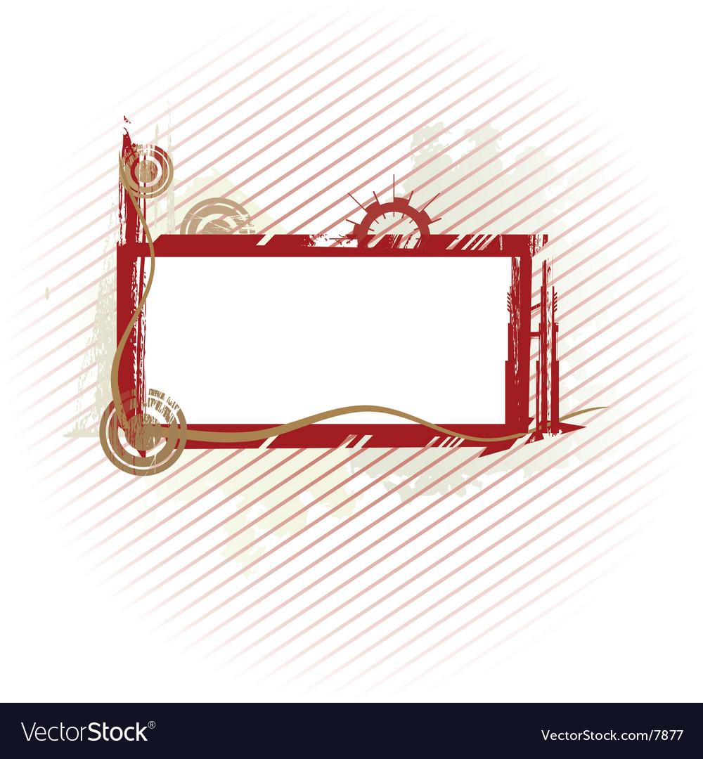 Olive industrial frame