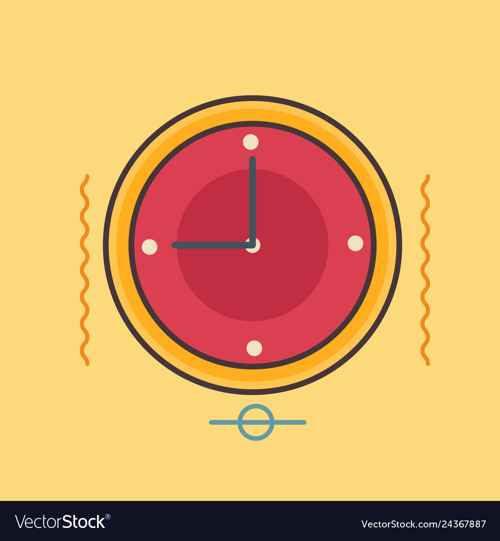 Clock icon set of great flat icons use for