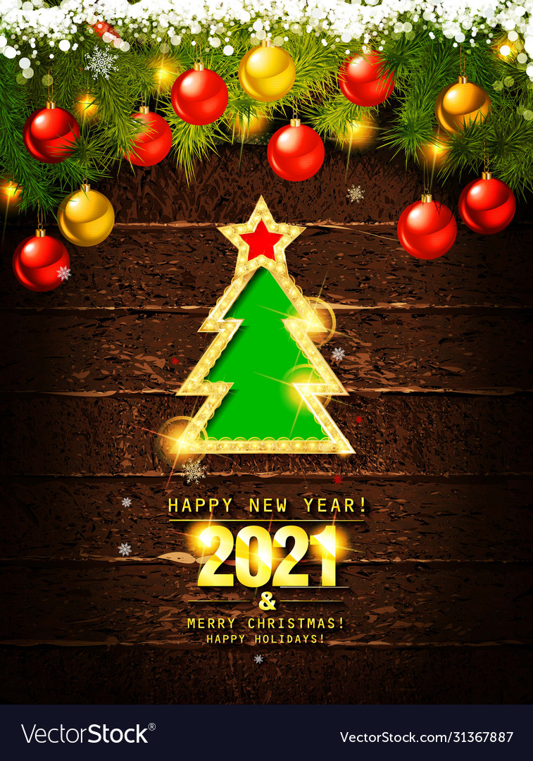 Download Merry Christmas And Happy New Year 2021