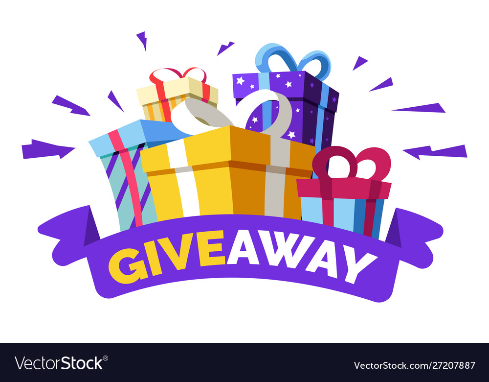 Social media contest giveaway and special offer