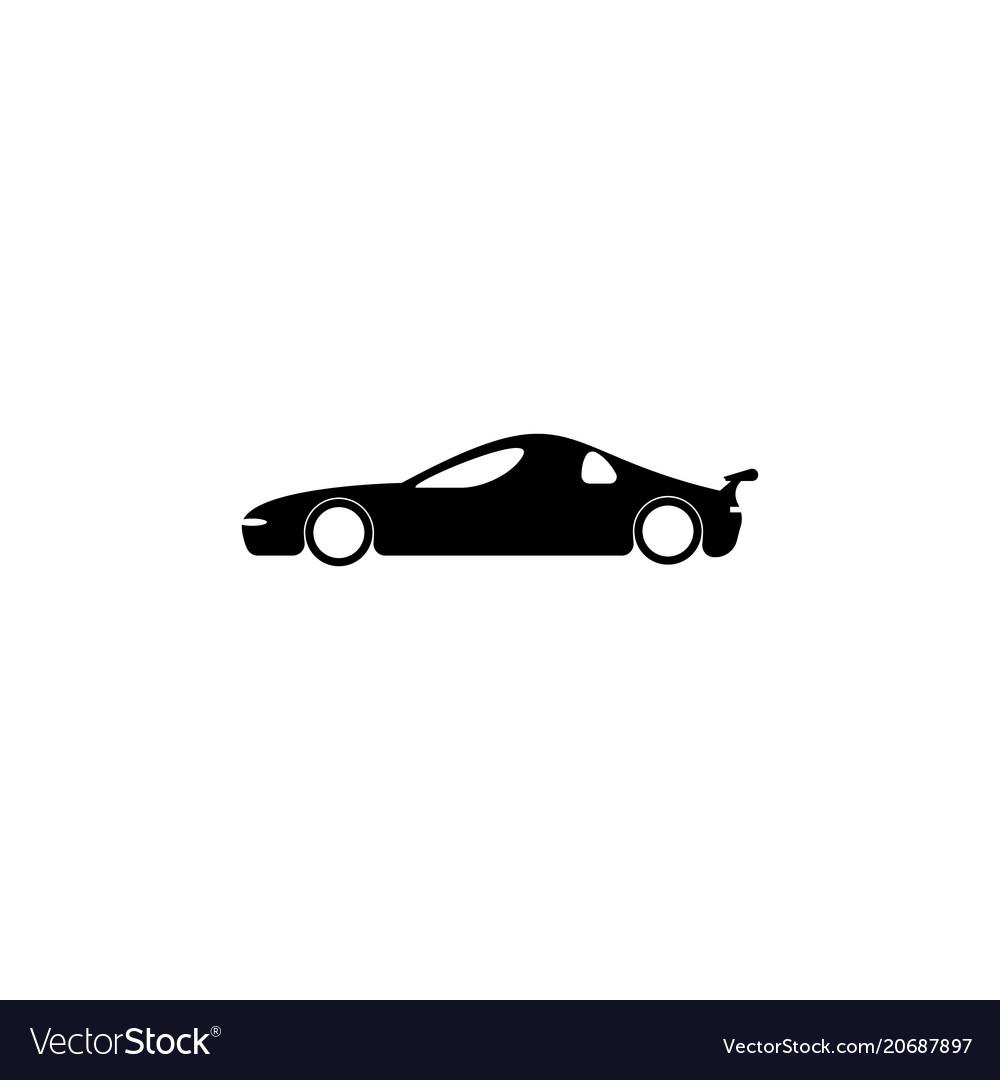 Super sport car icon element of popular car icon vector image