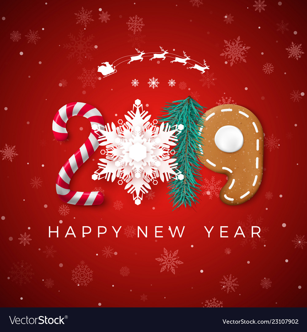 Happy New Year Greeting Card 73