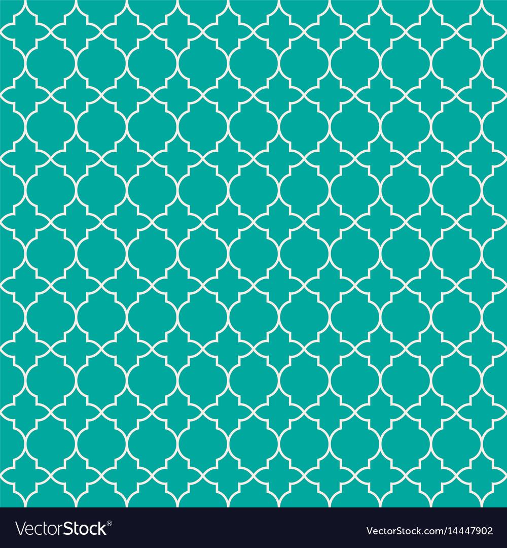 Mint green geometric q...