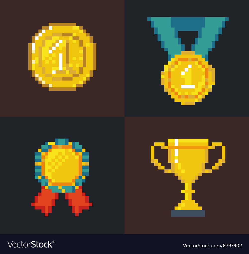 Pixel Awards and Trophy