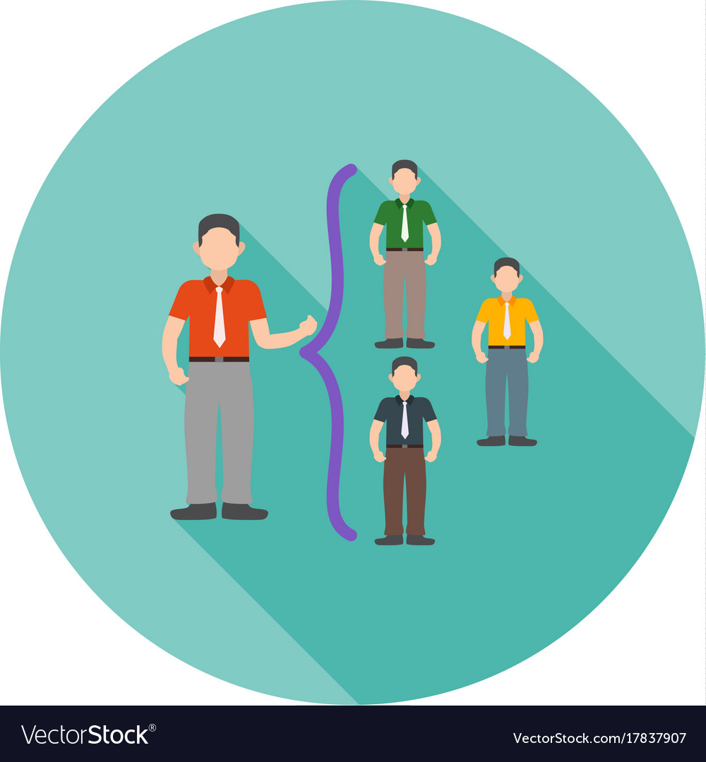 Networking skills vector image