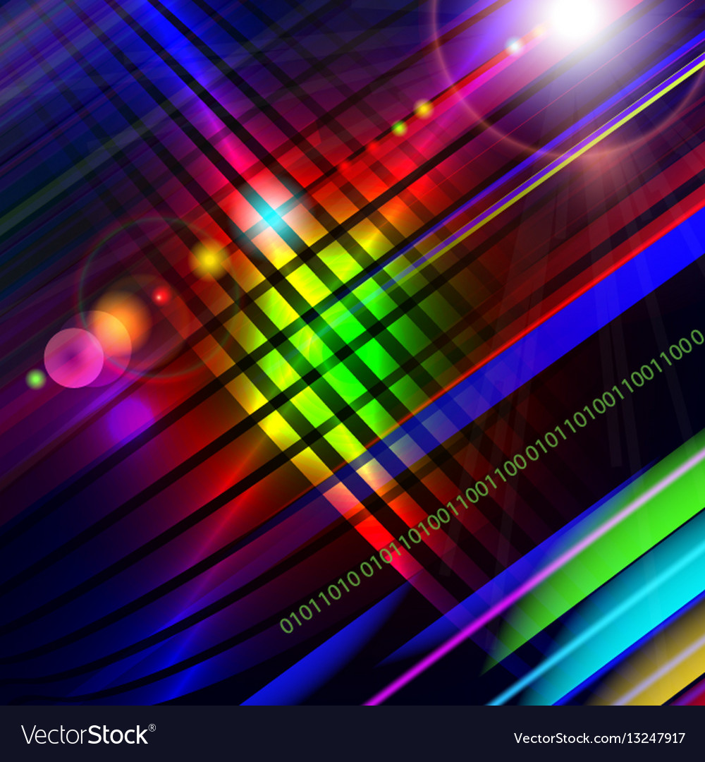 Abstract technology-style colorful background