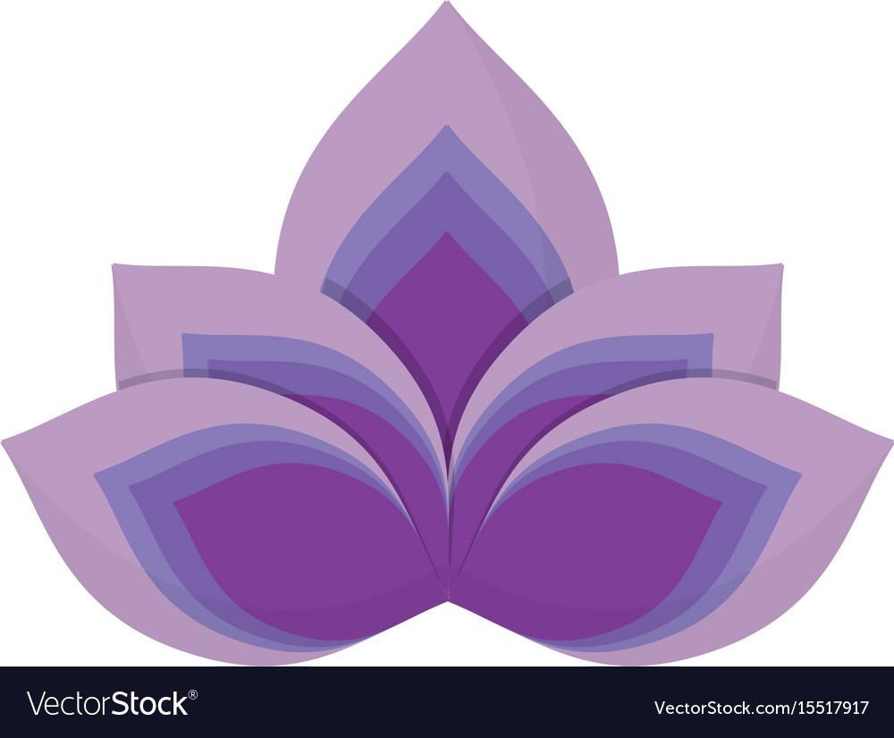 Lotus flower symbol royalty free vector image vectorstock lotus flower symbol vector image izmirmasajfo
