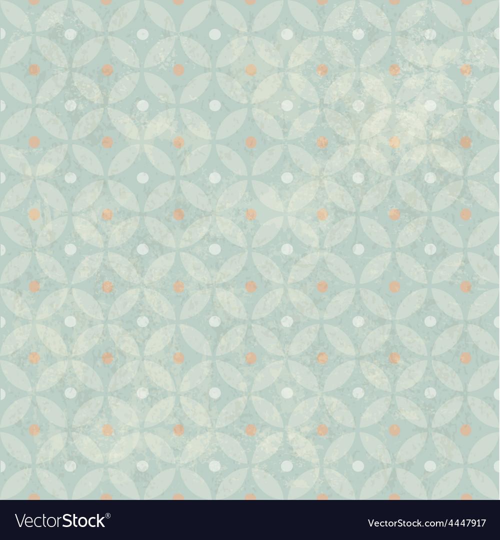Retro aged seamless pattern