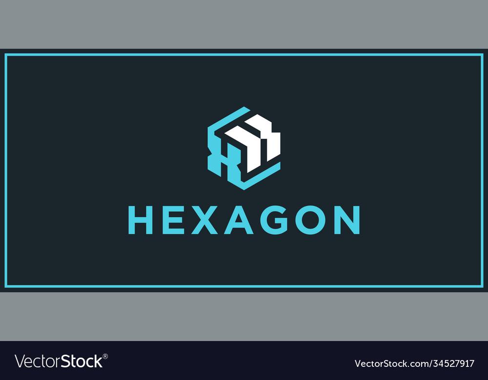 Xk hexagon logo design inspiration
