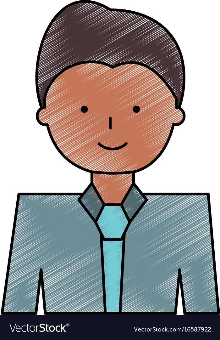 Man Cartoon Profile Royalty Free Vector Image Vectorstock
