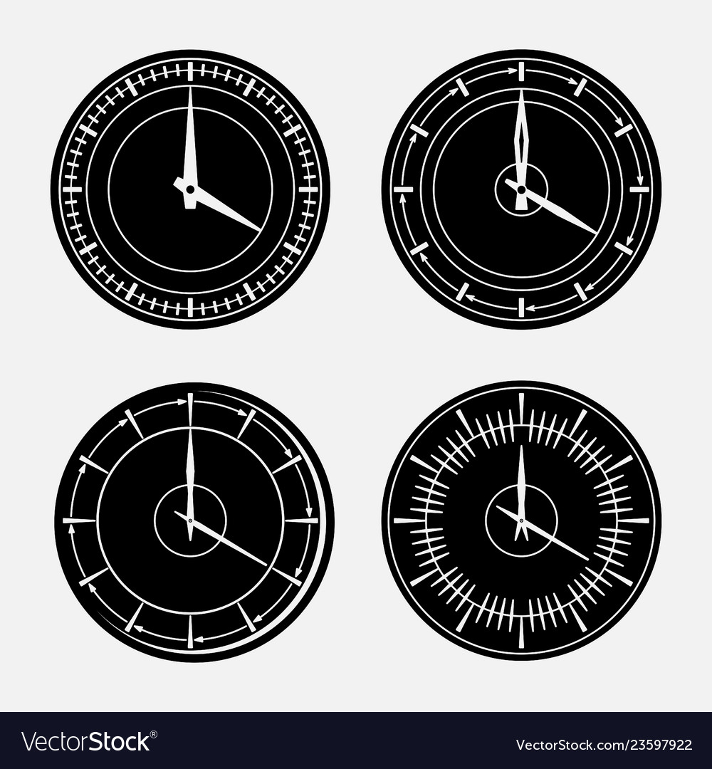 Set hours clock icon 24 hour support