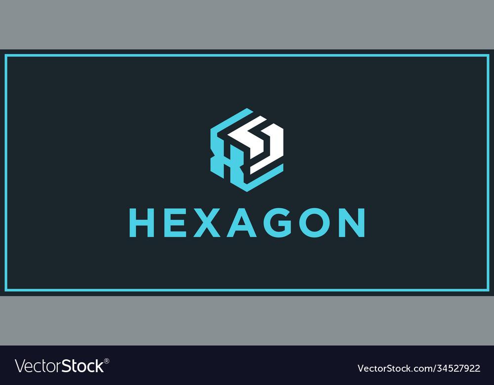 Xs hexagon logo design inspiration