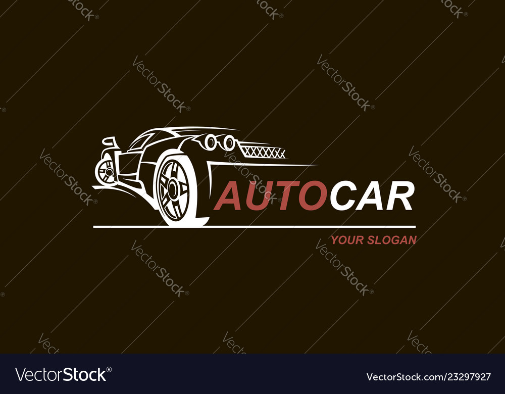 Abstract car emblem