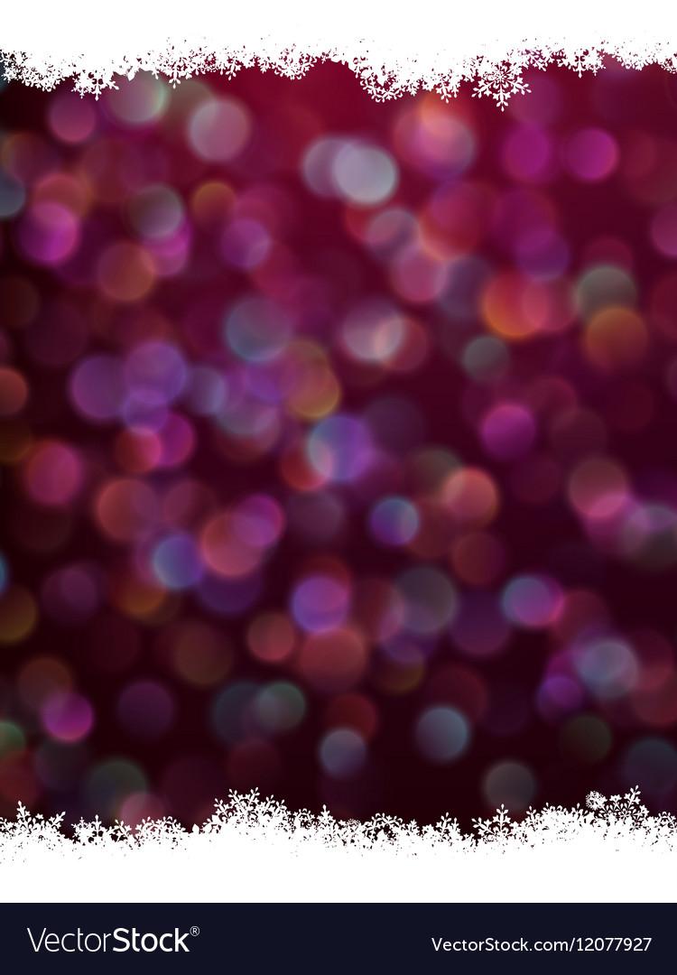 Festive defocused lights eps 10