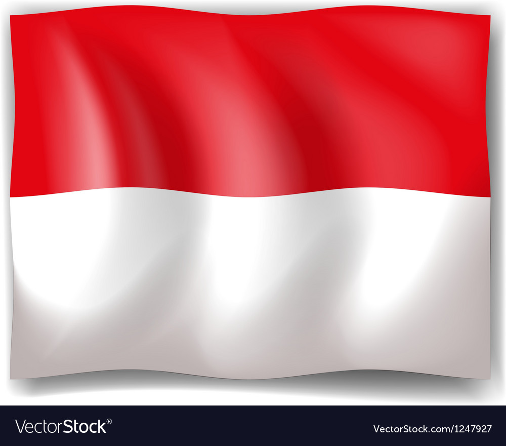 Flag Of Indonesia Royalty Free Vector Image Vectorstock
