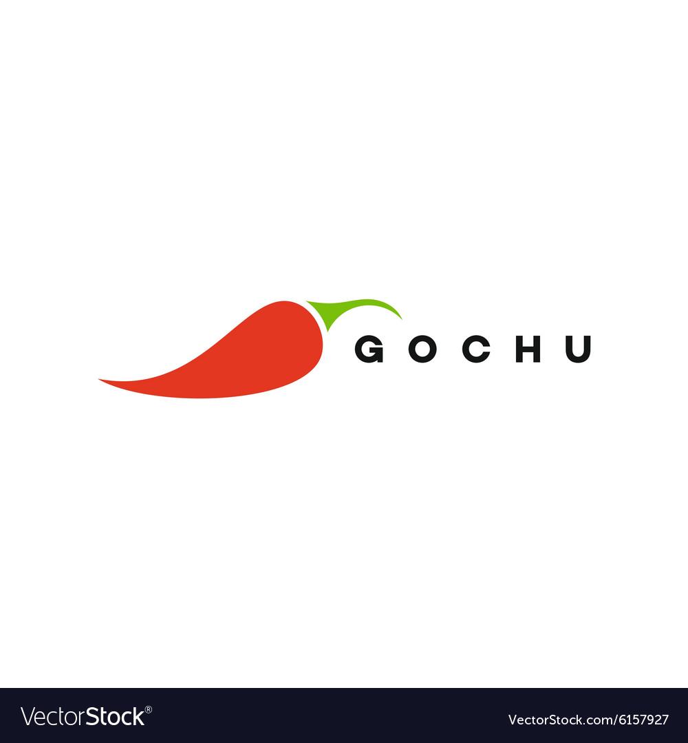 Red Pepper logo Gochu fully