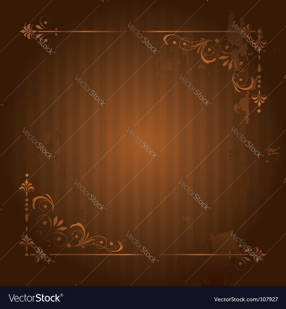 Vintage background with grunge elements vector image
