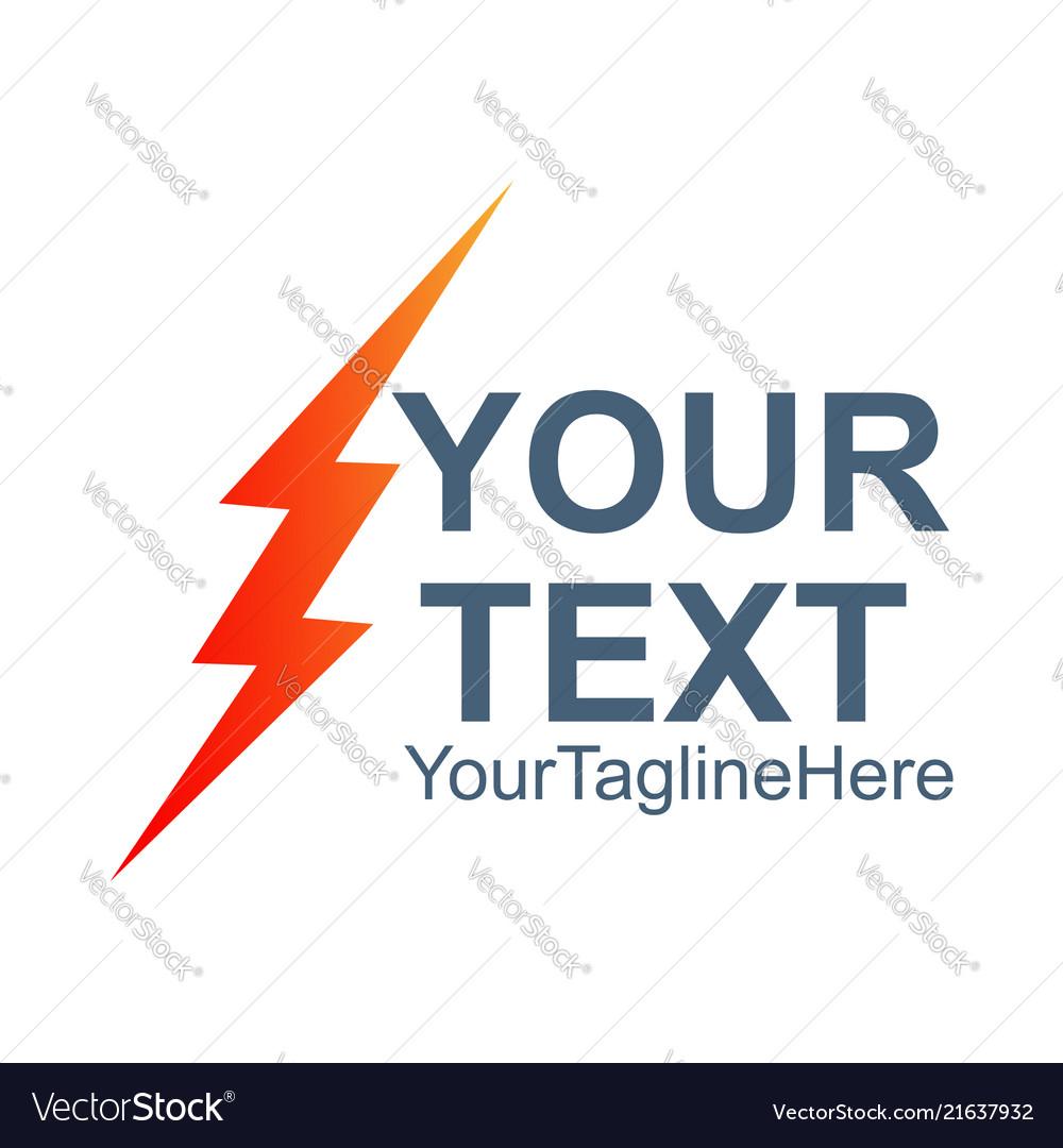 Lightning bolt icon flash icon bolt of lightning