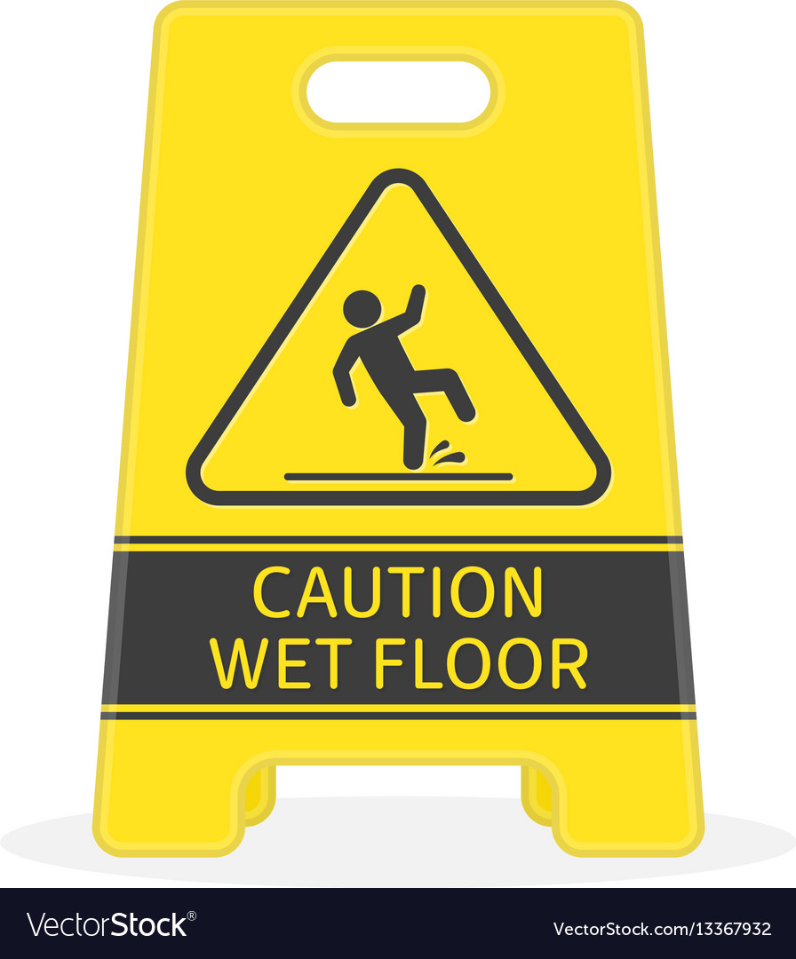 ml when floor slippery signs wet caution safety sign first