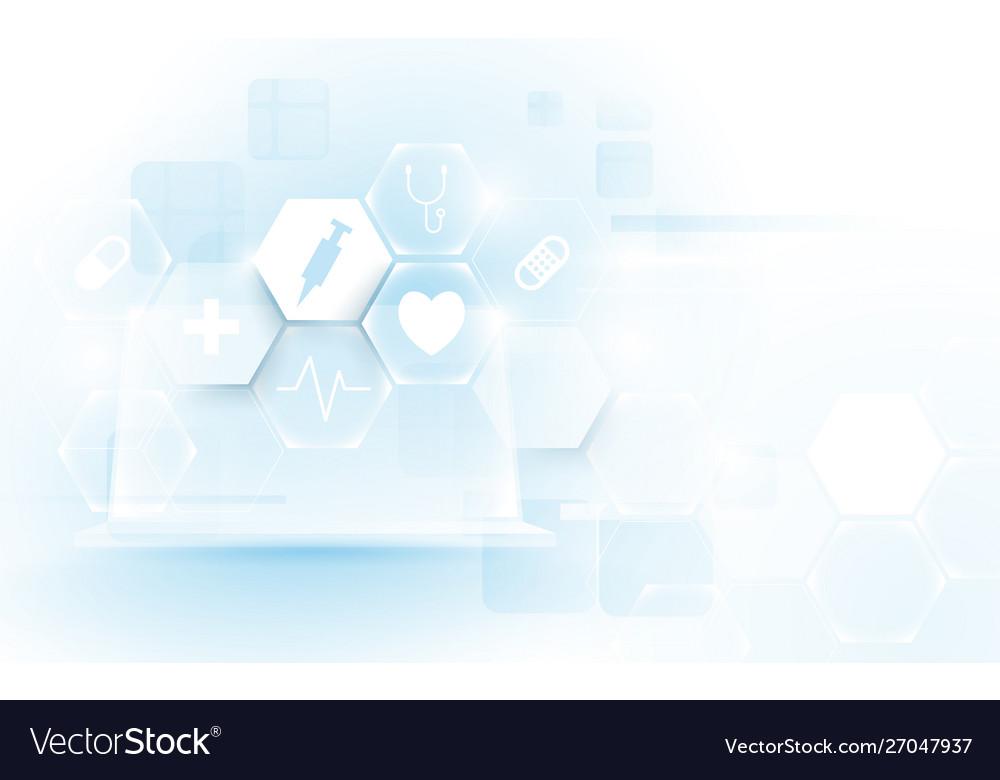 Computer interface as medical icon virtual screen
