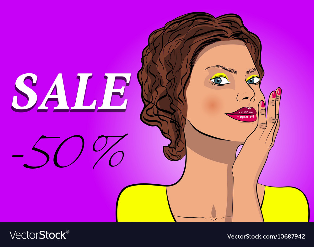 Social sale banner and ad web template vector image