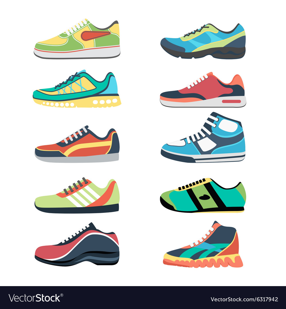 Sports shoes set
