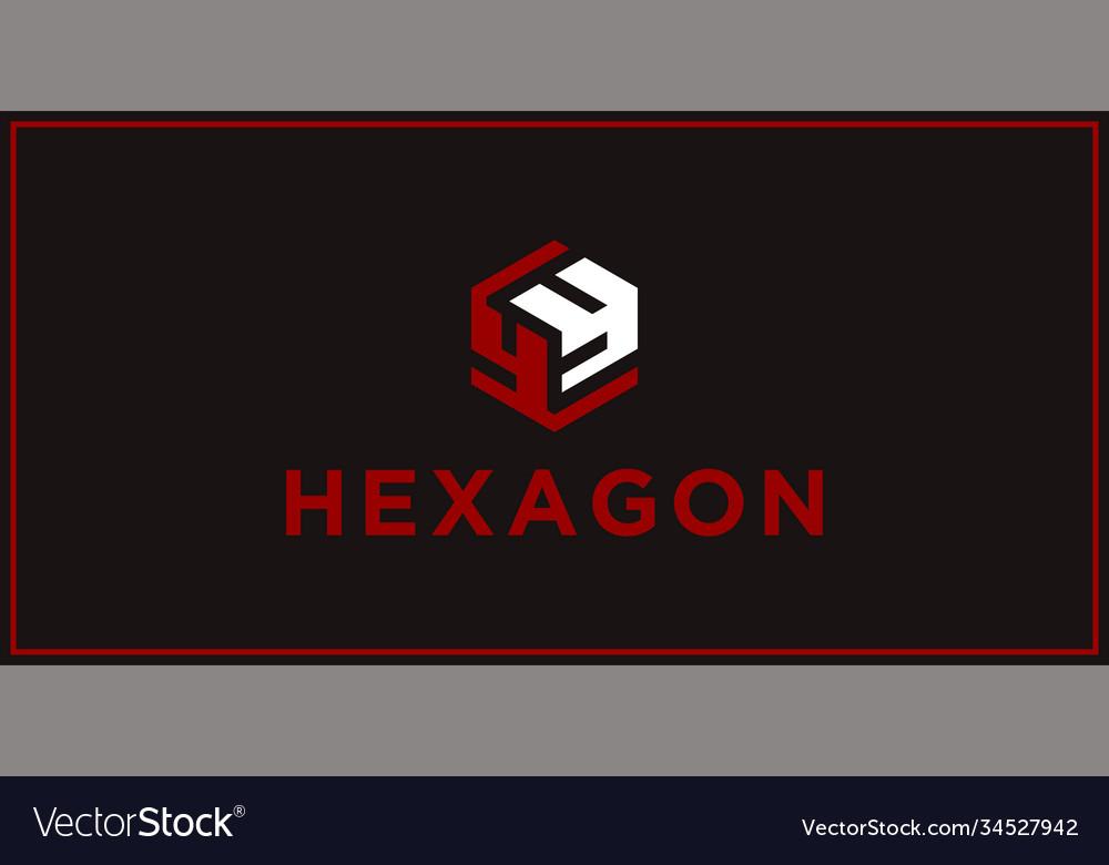 Yy hexagon logo design inspiration