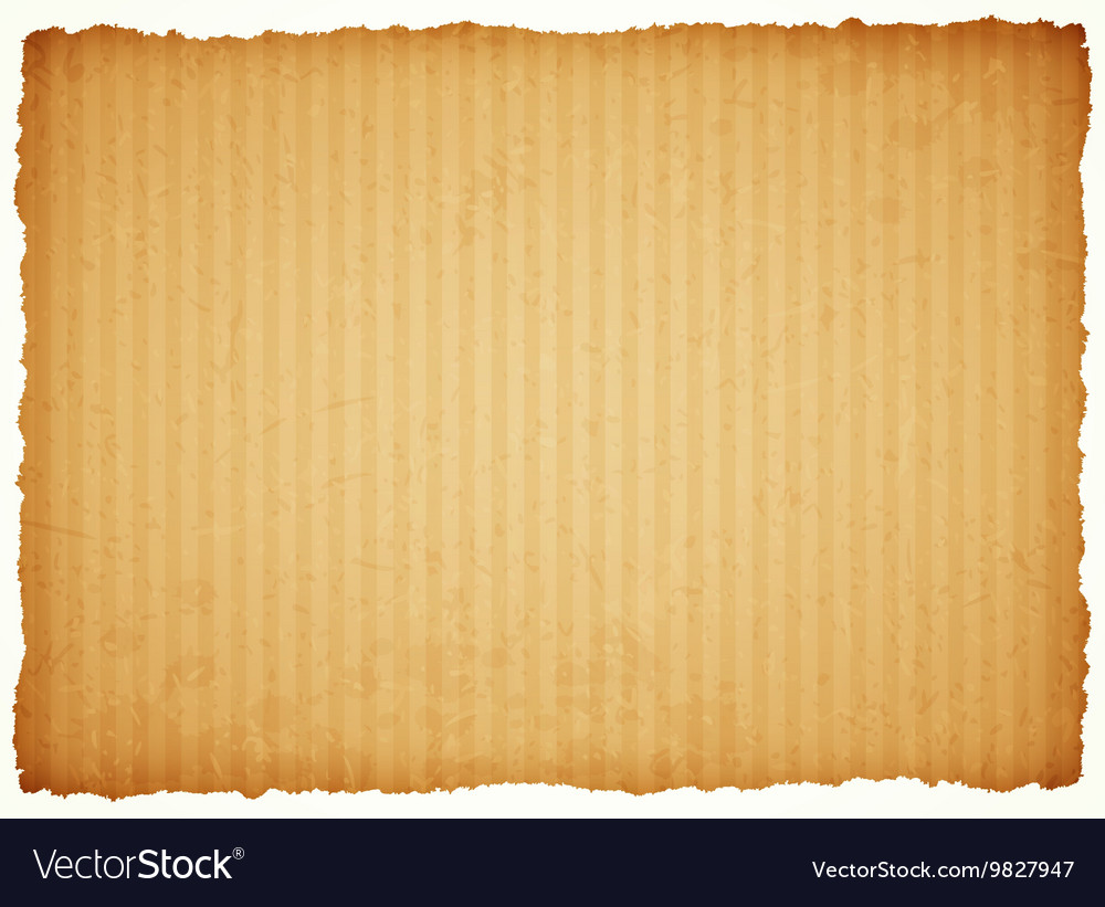 Cardboard paper frame Royalty Free Vector Image