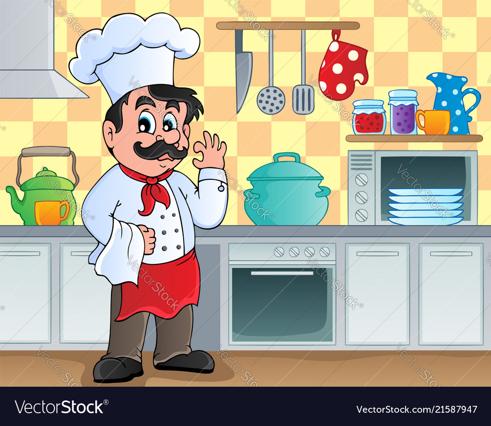 Restaurateur Vector Images (45)