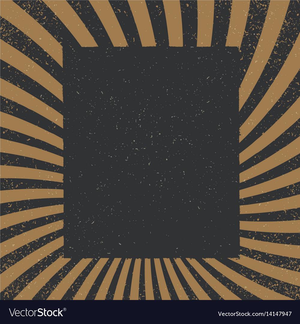 Vintage sunburst pattern radial background made
