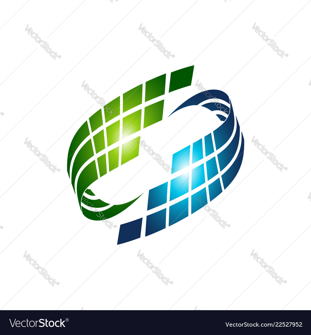 Abstract trandy curve of in swoosh stylise and