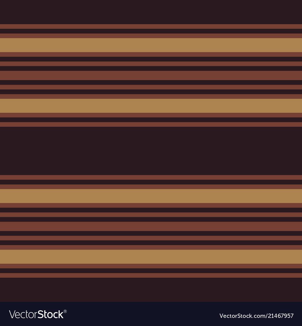 Retro pattern with horizontal brown stripes