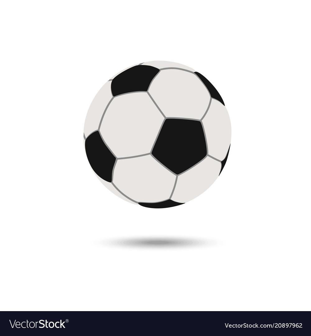 Football icon soccerball