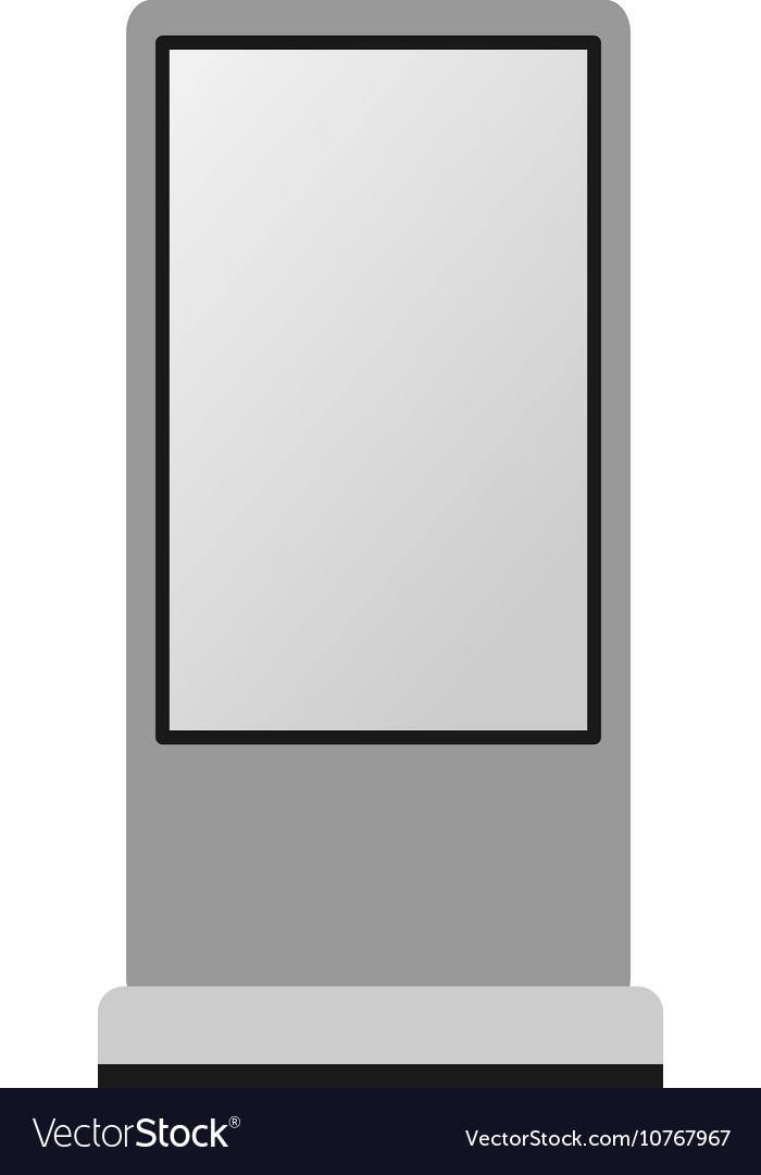 Advertisement Billboard Template Royalty Free Vector Image