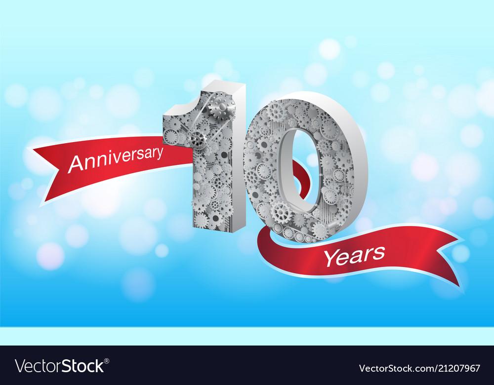 Anniversary 10 th