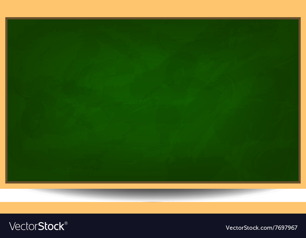 green chalkboard background eps 10 royalty free vector image