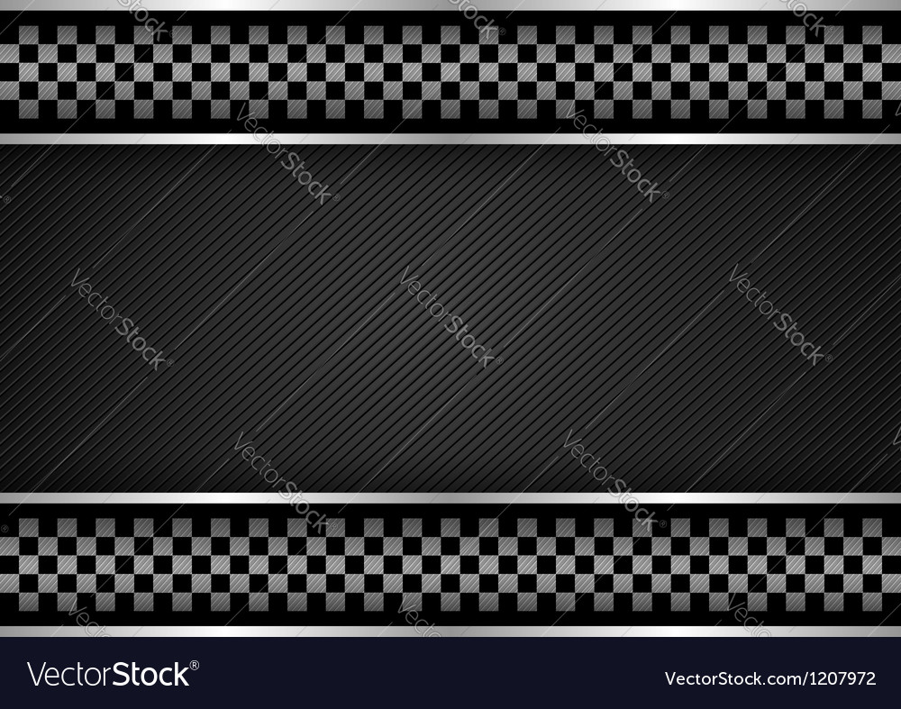Background - Racing dark vector image