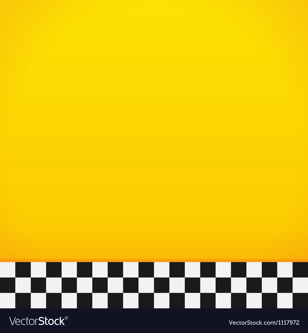 taxi checkerboard pattern royalty free vector image  vectorstock