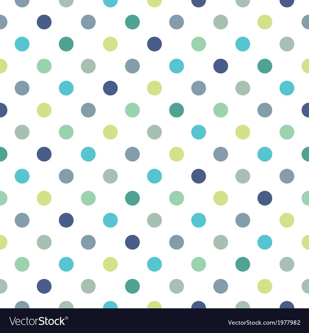 Seamless pastel pattern blue polka dots background