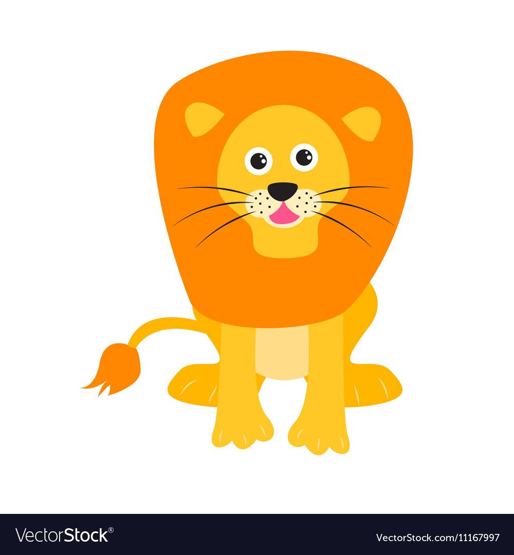 Cute lion