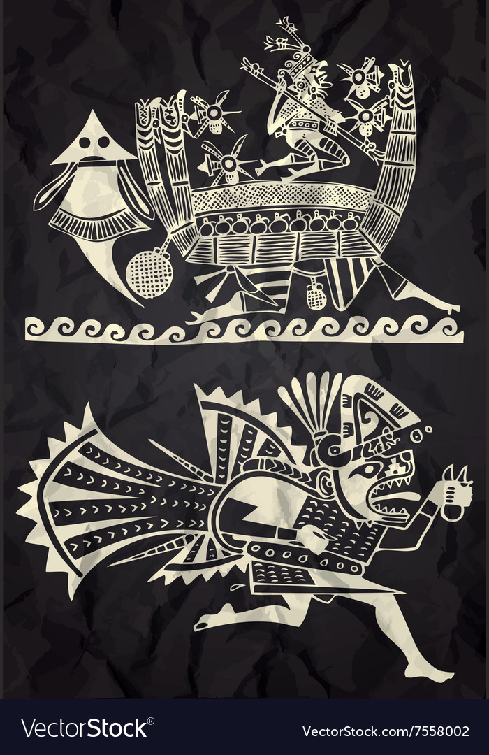 Mexico and Peru native art