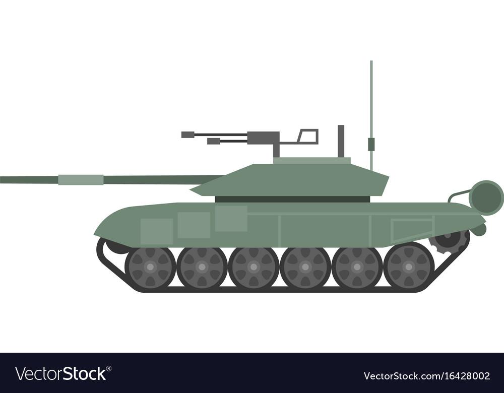 Tank t90 flat design