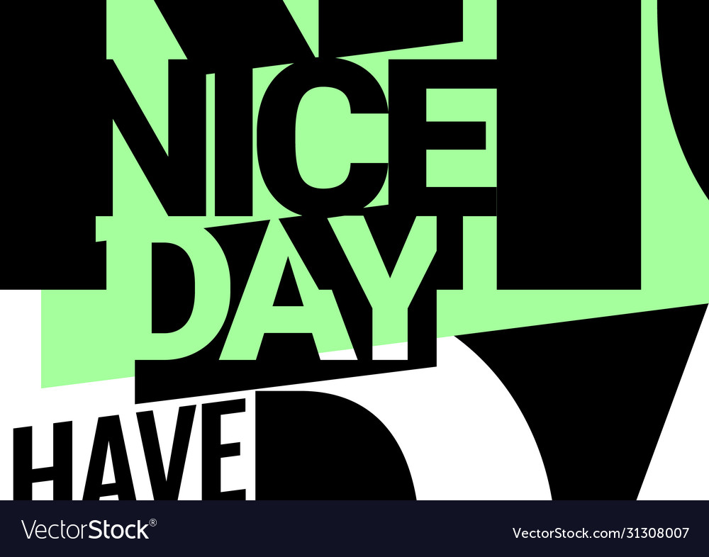 Abstract background on theme a good day