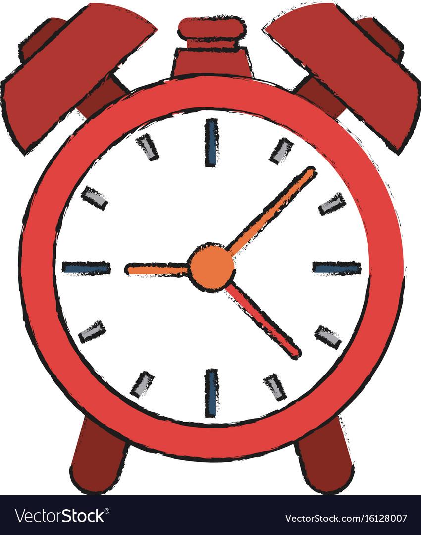 alarm clock royalty free vector image vectorstock rh vectorstock com digital alarm clock vector alarm clock vector freepik