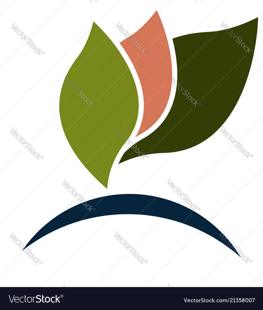 Autumn leafs logo
