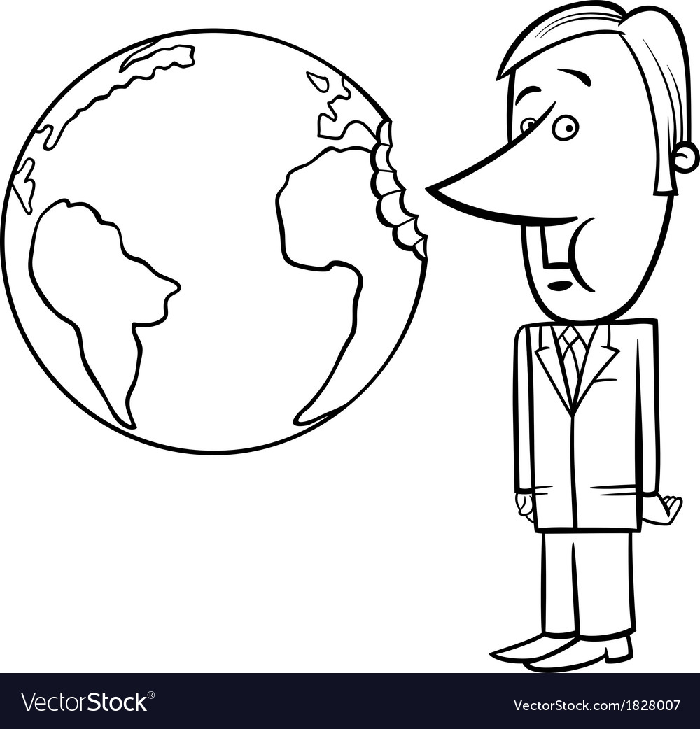 Business concept cartoon