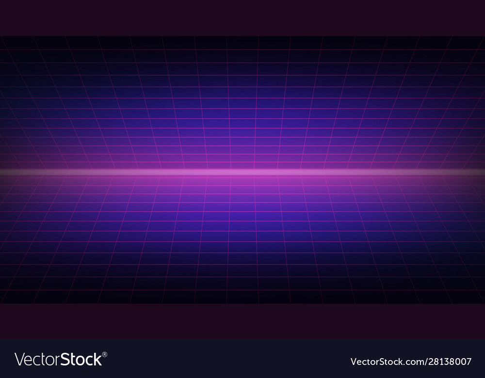 Future retro line background 80s